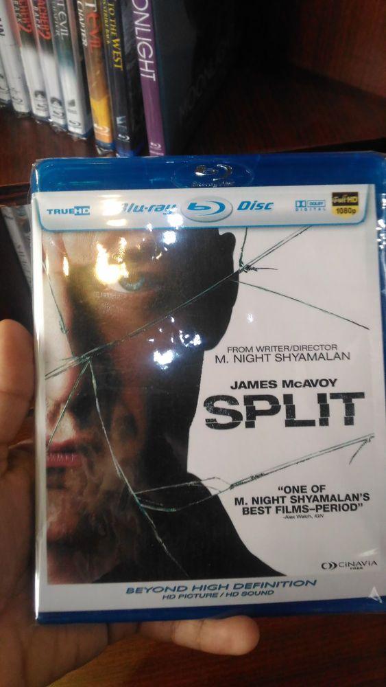 Split HD 2017 Blu-Ray Disc Free Shipping !!