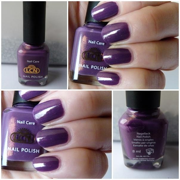 http://infarbe.blogspot.de/2012/03/notd-lcn-nagellack-colour-me-up-326.html Dieser LCN Nagellack Colour me Up 326 in Lila war für mich eine absolut positive Überraschung