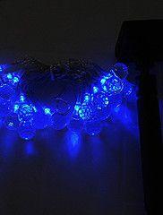 Solar LED Fairy Light String Xmas Party Wedding Garden Tree Decor Bl... – USD $ 29.99