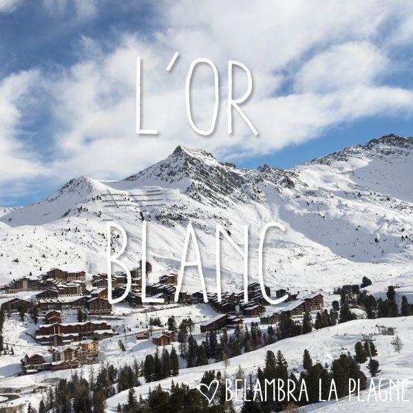 Un panorama exceptionnel de sommets enneigés et 225 km de pistes ! Du village traditionnel au village d'altitude, la station – composante de #Paradiski –  est implantée entre 1250 et 3250 mètres d'altitude et détient l'unique piste olympique de #bobsleigh en #France #LaPlagne #Belambra #vacances #Savoie