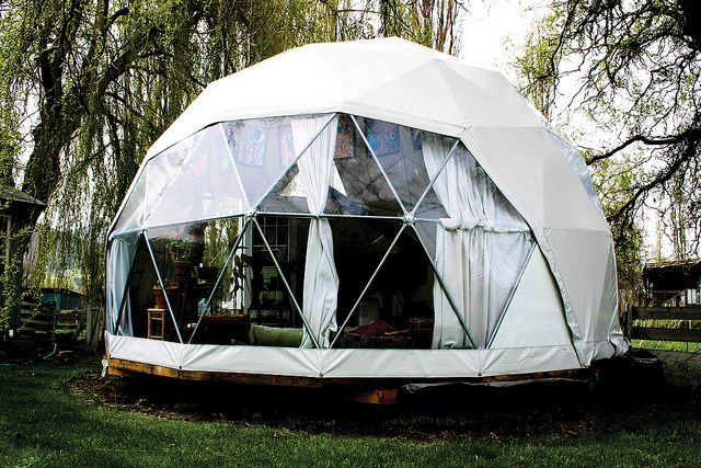 20' Oregon Eco Living Dome by DomeGuys International on Flickr.