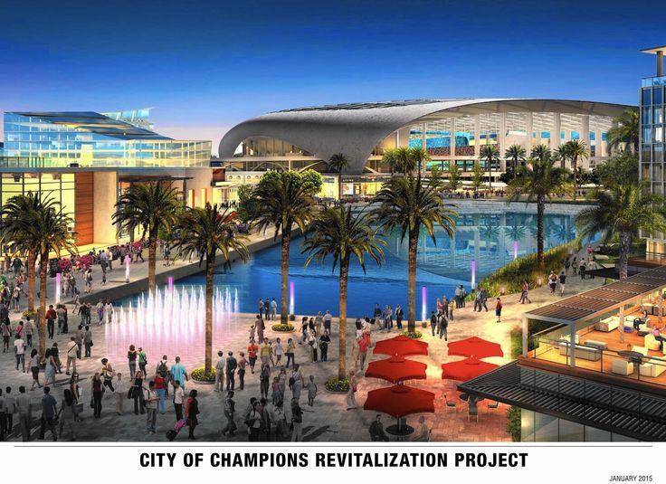 Owner of St. Louis Rams plans to build NFL stadium in Inglewood