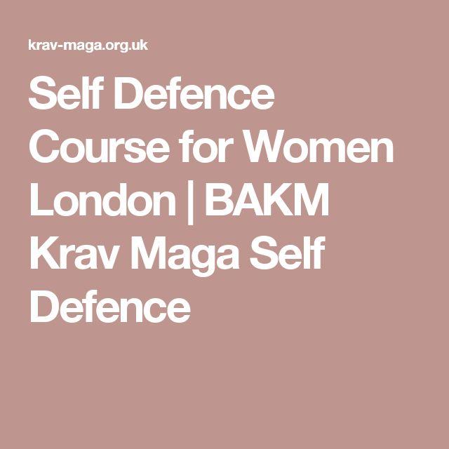 Self Defence Course for Women London | BAKM Krav Maga Self Defence