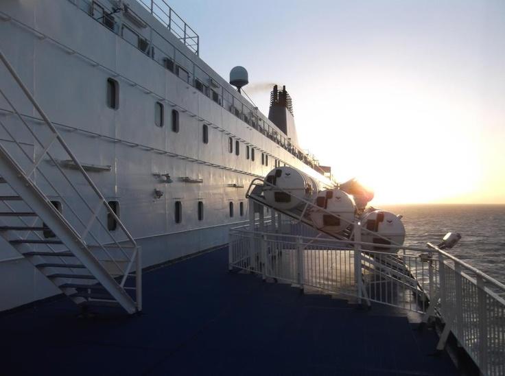 Rene Hofsteden heeft een prachtige foto gemaakt van ons prinsesje. Princess Seaways