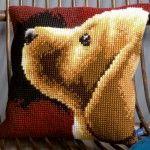 Labrador - Kruissteekkussen - Vervaco
