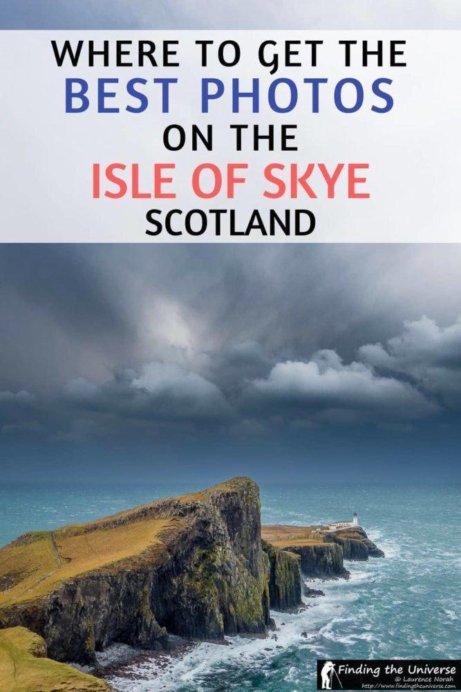 Guida all'ubicazione della fotografia dell'Isola di Skye, Scozia