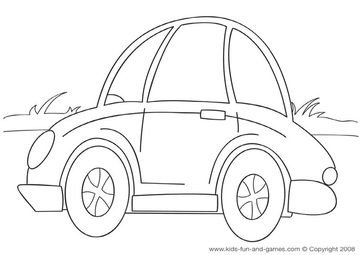 88 Best Coloring Pages Images On Pinterest Coloring Books General Car Coloring Pages