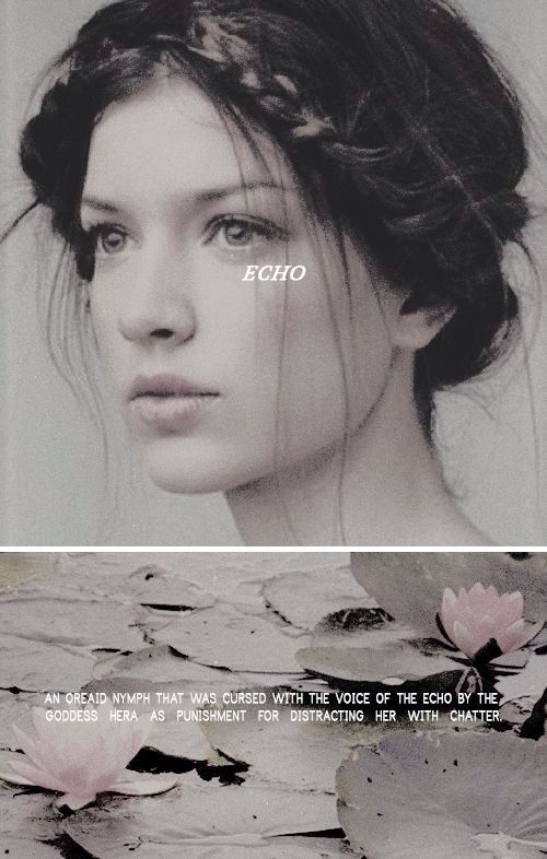 Greek Mythology ~ Echo