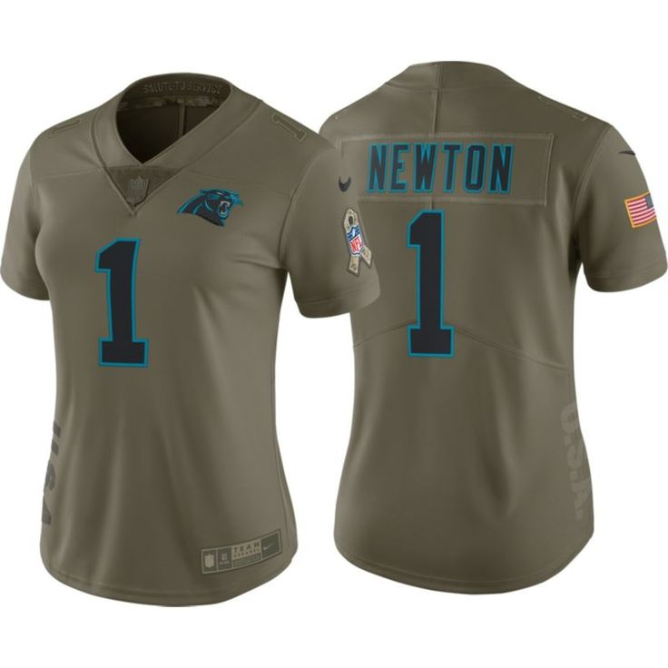competitive price d61ba 97963 nike carolina panthers 1 cam newton 2014 salute to service ...