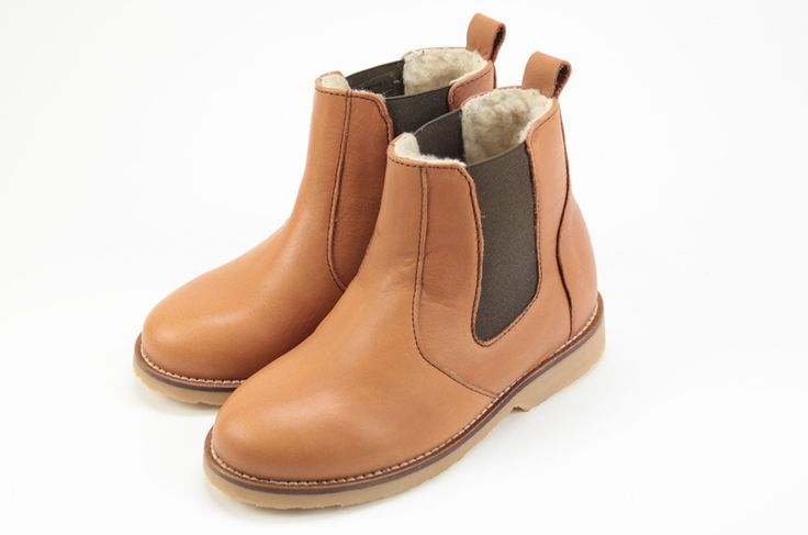 Chaussures Clotaire Boots-Fourree-Camel