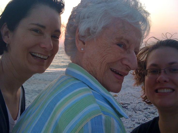 Gals on the beach: Deb, Betty Jane & Me!: The Beach