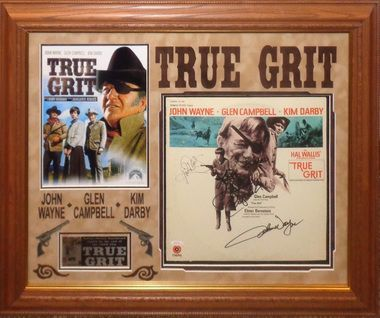 True Grit Cast Signed Album