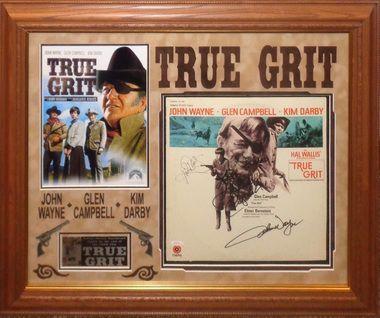 True Grit Cast Signed Album