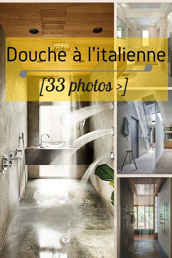 Douche à l'italienne : 33 PHOTOS (idées & inspirations)  http://www.homelisty.com/douche-italienne-33-photos-de-douches-ouvertes/