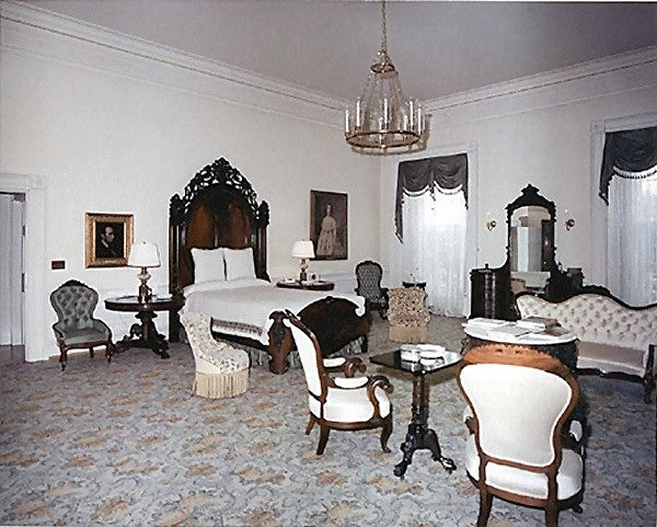 The Lincoln Bedroom after renovation (Kennedy Library)