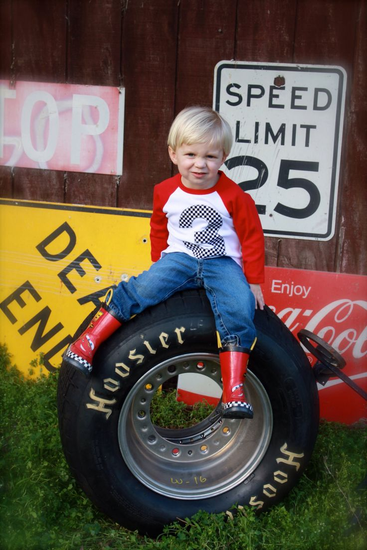 Race Car checker Flag Red and white with navy 3 baseball sports raglan boys 3rd birthday shirt with navy one kids birthday theme first party