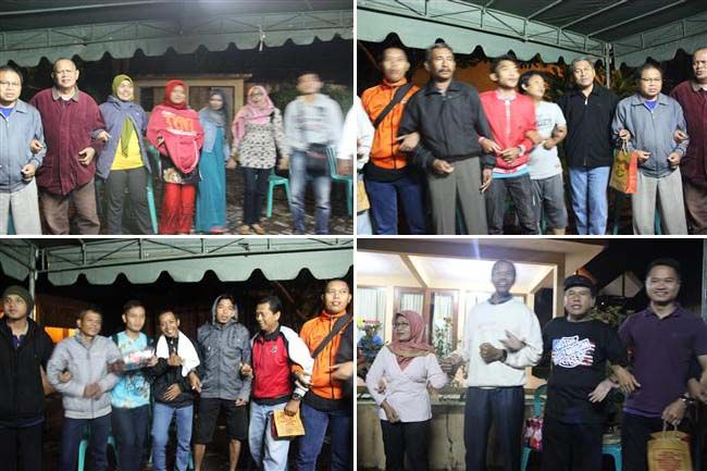 Malam Evaluasi dan kebersamaan Peserta Rombongan Unizar Mataram Goes To Pare serta makan malam di dekat danau Bratan Bedugul Bali