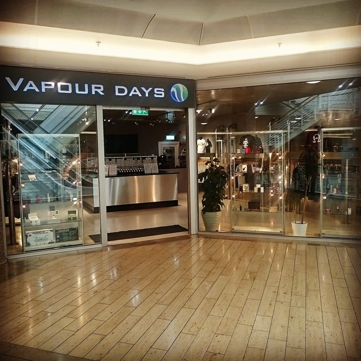 Vapour Days have opened the new and improved e cigarette shop on the middle floor of the Galleries. Come in and see the new vapour clothing range and try the many flavours on offer.