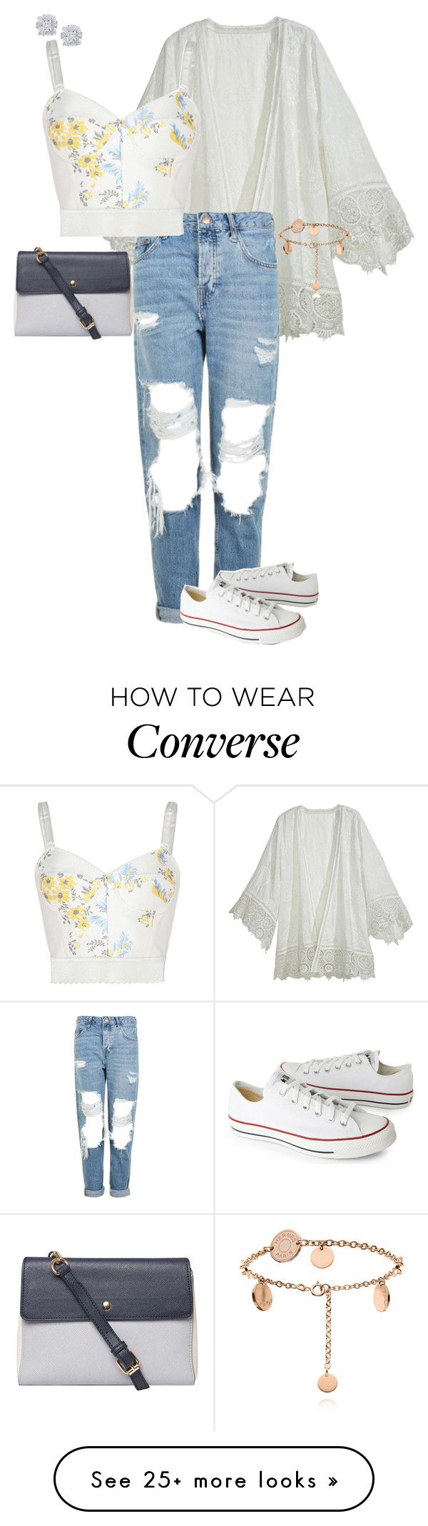 """""""Sans titre #308"""" by adeline-m on Polyvore featuring Calypso St. Barth, Topshop, Converse, STELLA McCARTNEY, Dorothy Perkins and Effy Jewelry"""