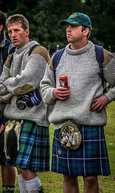 Image result for kilt with sweater
