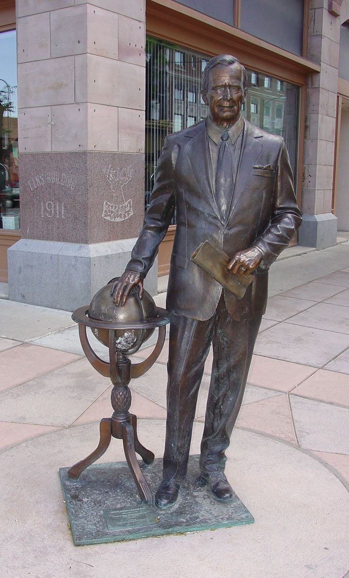 George Bush, Sr. Presidential Walk, Rapid City, South Dakota