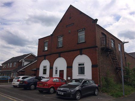 Interesting - & at 718 sq m size is right ,,,  The Old Fire Station, Clarendon Road, Irlam, Greater Manchester, M44 5ZA   Lot Photo