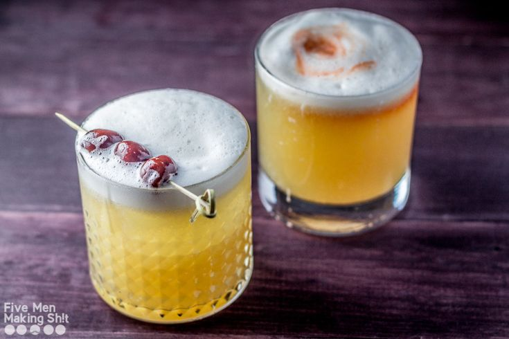 The Whisky Sour is one of the most well-known of the sour cocktails, and for good reason; it's absolutely delicious!