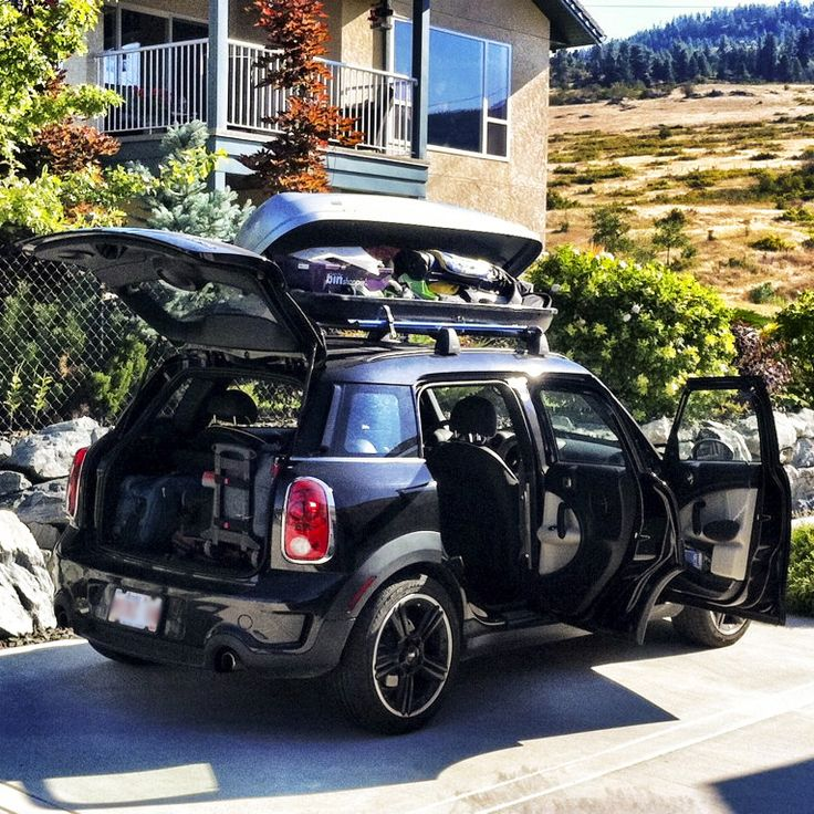 What's your biggest worry when packing for a family adventure? The #MINI #Countryman has you covered. #Pack #Family #Roadtrip #Adventure #Vacation