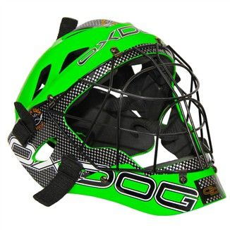 OXDOG GATE GOALIE HELMET senior green/black