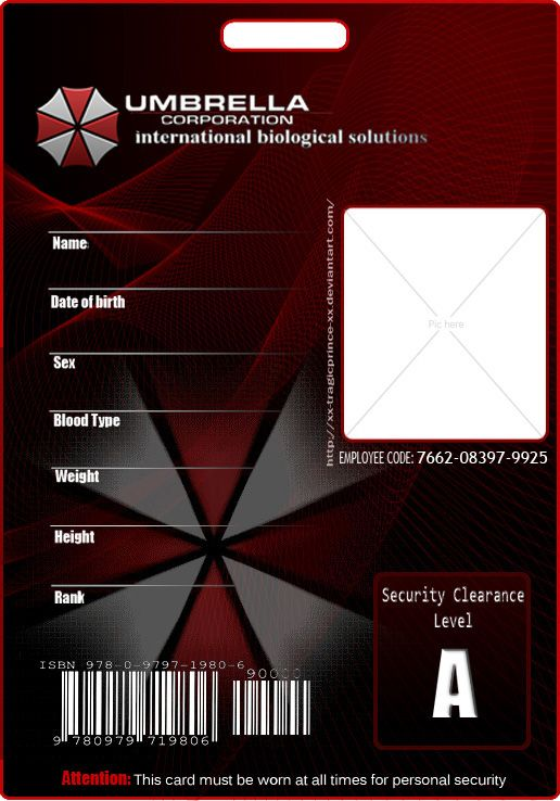 113 best Cosplay ID Card Templates images – Blank Id Card Template