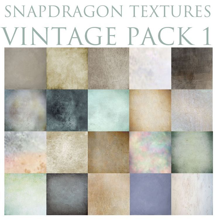 Snapdragon Textures Vintage Pack 1