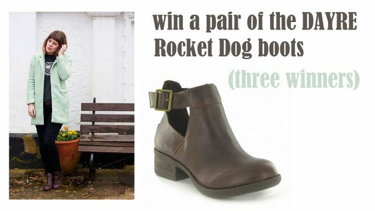 Rocket Dog boot giveaway