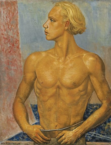 Boris Grigoriev - PORTRAIT OF THE ARTIST'S SON,...