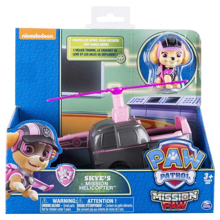 Paw Patrol Mission Paw Skye's Mission Helicopter-Toy Universe