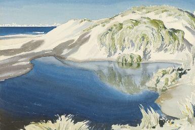 Luminous Australian Watercolours 1900–2000-CityofMelbourne