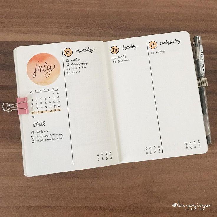 538 best Bullet Journal images on Pinterest | Bullet journal ideas ...