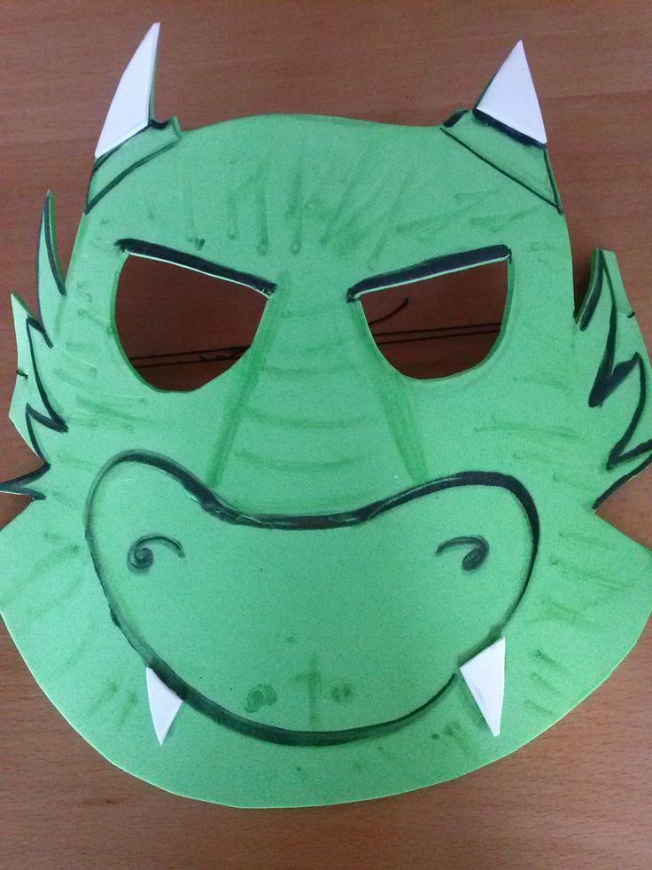 mascara dragon