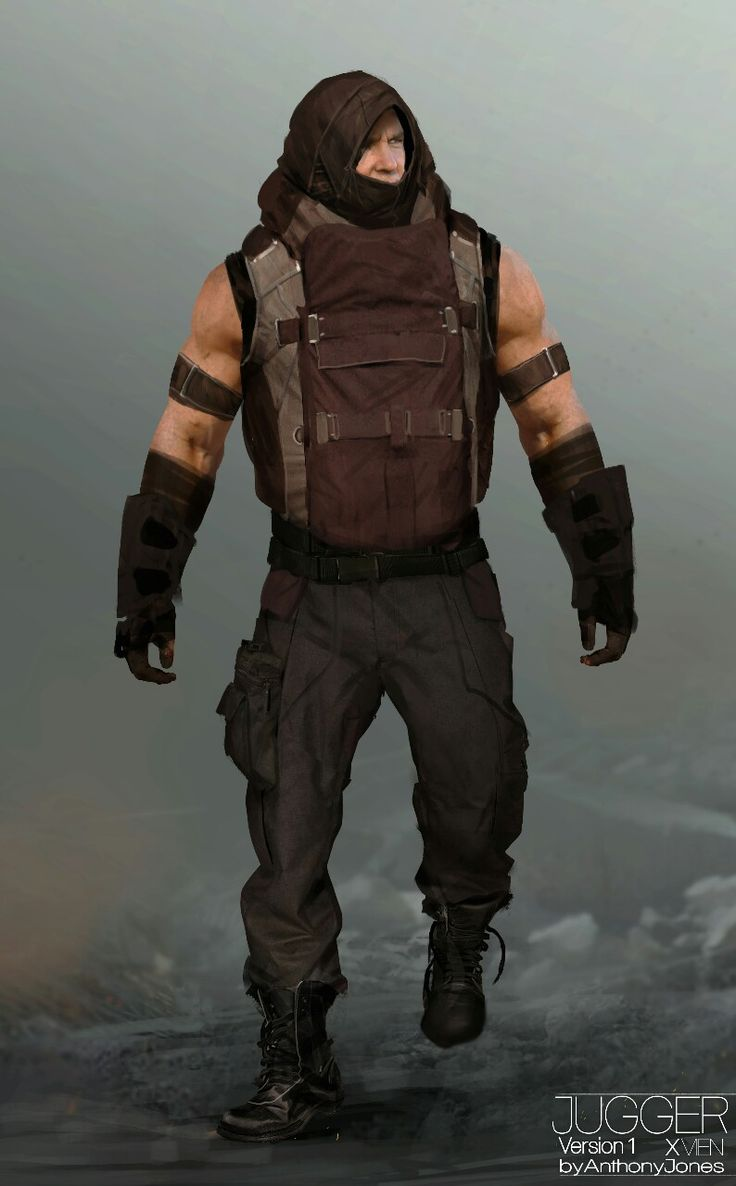 First Look: Young JUGGERNAUT Costume Designs - X-MEN: DAYS OF FUTURE PAST