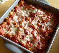 potjesgeluk: Vegetarische lasagne met mozzarella, spinazie en snijbiet uit De Keuken van Sofie