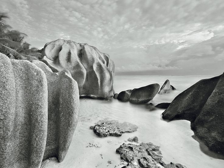 Granite rocks and beach | Lawrence Hislop Photography