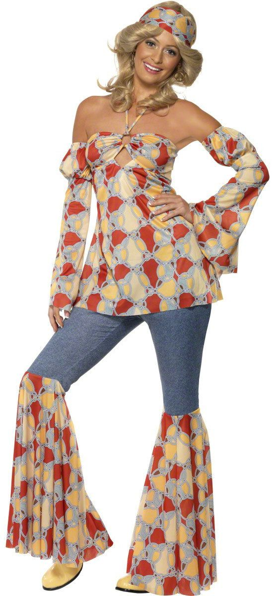 homemade 70s costume ideas | vintage 70s hippie adult costume 70s costumes for women item 9101 our ...