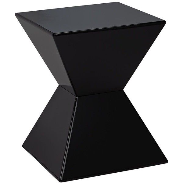 Sunpan Modern Rocco Modern Black End Table ($80) ❤ Liked On Polyvore  Featuring Home