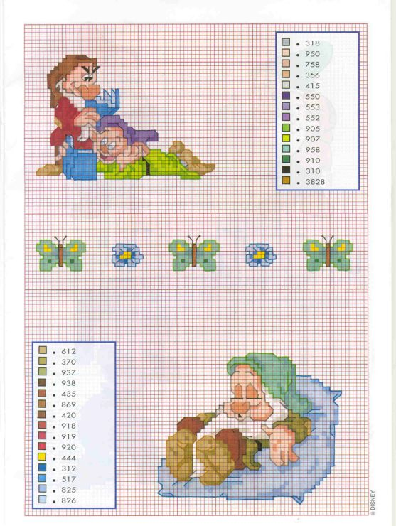 Snow White Cross Stitch