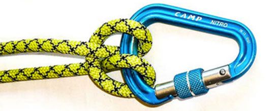 The knots are essential knowledge #climbing