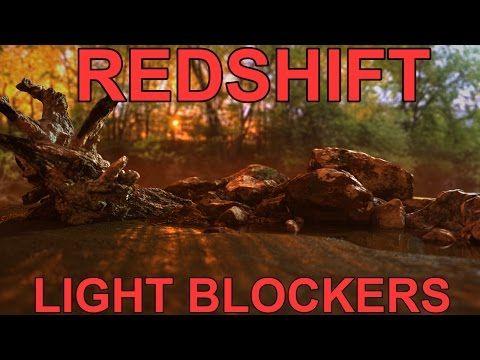 Redshift Light Blocker Tutorial - YouTube