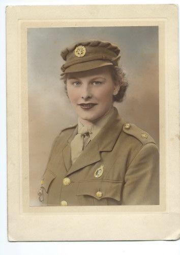 Iris Duerden, ATS, London 1943