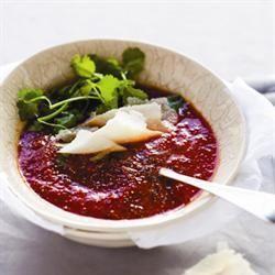 Tomato soup/Geurige tamatiesop