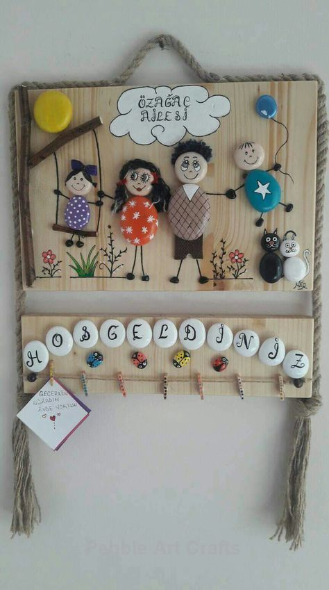 Creative crafting ideas for Pebble Art Crafts! – Crafts – #Art #Bastelideen #c