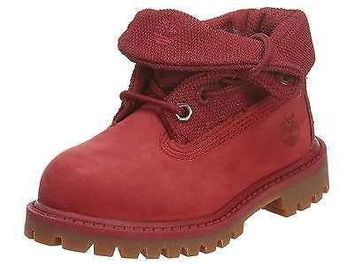 timberland roll top boots for big kids