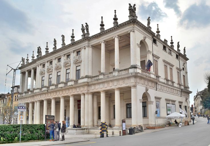 "HIGH RENAISSANCE ARCHITECTURE, North Italy; Palazzo Chiericati, Vicenza, 1510, by Palladio  ""Beauty will result from the form and correspondence of the whole."" --Andrea Palladio"
